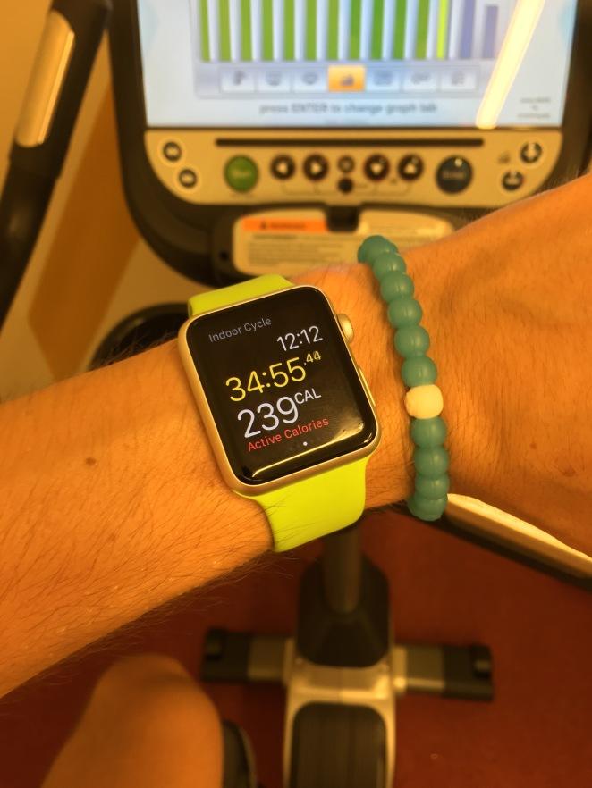 Apple Watch Cycling