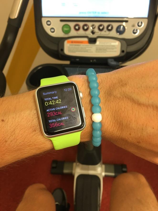 Apple Watch Bike Summary