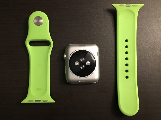 Apple Watch Green Sport Band