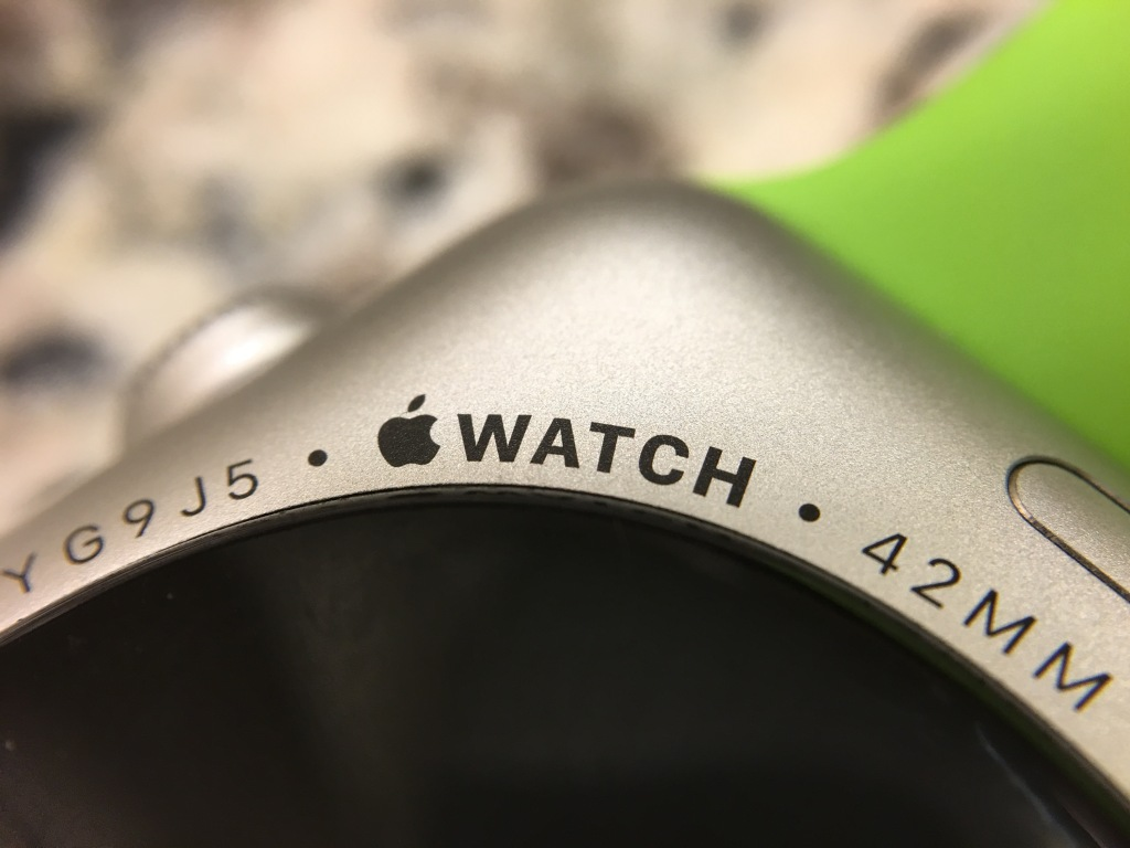 Apple Watch Macro Logo