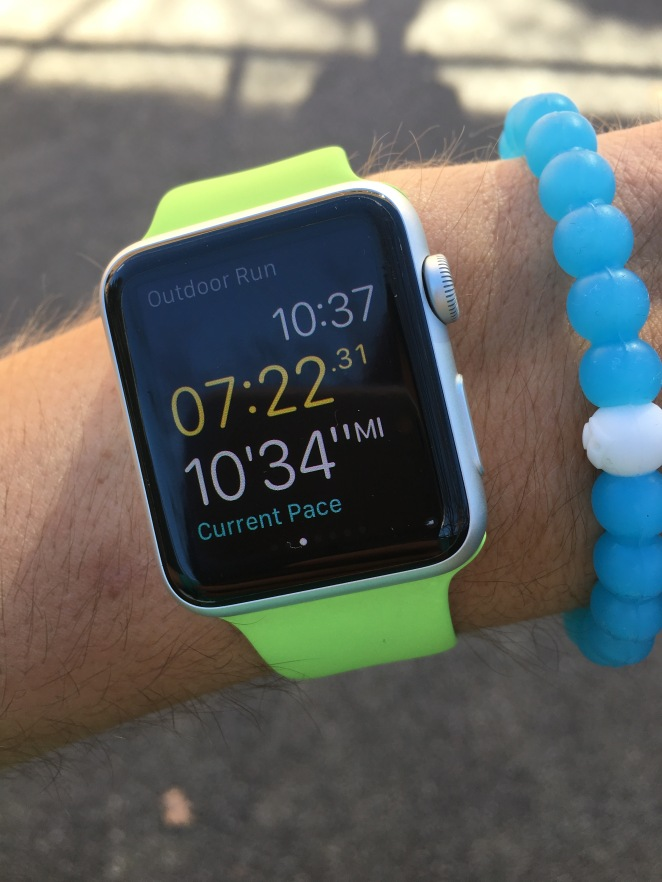 Apple Watch Outdoor Run