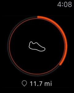 Apple Watch Strava App